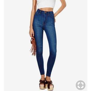 Nasty Gal High Waist Skinny Jeans Size 27